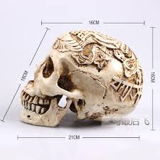 Life Size Halloween Skeleton by Online Get Cheap Skull Life Size Aliexpress Com Alibaba Group