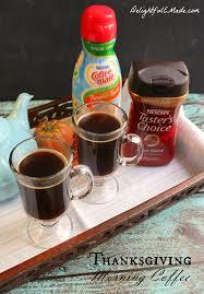 thanksgiving morning coffee delightful e made