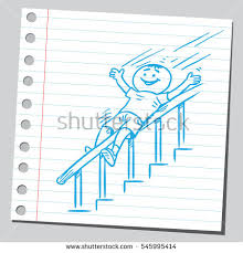 Sliding Down Banister Banisters Stock Images Royalty Free Images U0026 Vectors Shutterstock