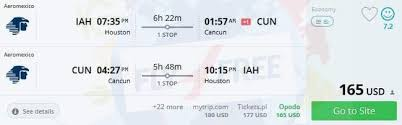viva mexico fly from the usa to cancun from only 165