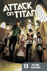 attack on titan attack on titan 13 kodansha comics