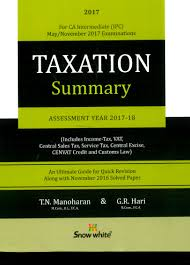 igp publication taxation for ca ipcc income tax u0026 indirect taxes