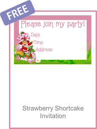 printable birthday invitations strawberry shortcake free printable strawberry shortcake invitation orderecigsjuice info
