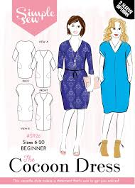sew now 8 magazine with simple sew cocoon dress pattern