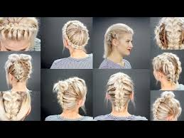 Cute Sporty Hairstyles 40 Effortlessly Stress Free Diy Hairstyles For Glamorous Short