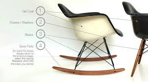 Eames Fiberglass Armchair Eames Upholstered Fiberglass Chair Parts