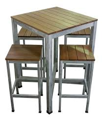 high top table plans furniture narrow square high top outdoor table with four backless in