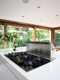 Hob With Built In Extractor flush barazza gas hob houzz
