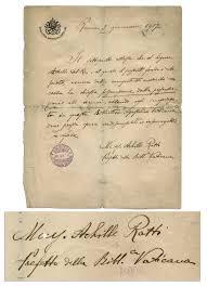 Nancy Reagan Signature Francis Pope Autograph Sells For 4 688 Pope John Paul 3 125