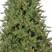 bedford pine instant glow power pole pre lit artificial christmas