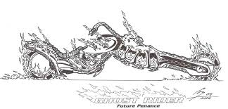 ghost rider coloring pages ghost rider future penance 1 by ghostrider2007 on deviantart