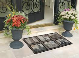 front door mats as a guest greeting tool amaza design