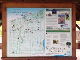 bridges of county map bridge map from one of the picture of ashtabula county