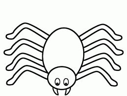 spider coloring page good site for getting sheets for each letter