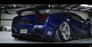 Lamborghini Gallardo Blue - brilliant blue lamborghini gallardo lb with twin turbo by optimus