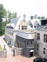 biltmore estate kitchen courtyard slate covered staircase
