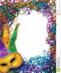 mardi gras frame mardi gras masks border eps10 mardi gras masking and