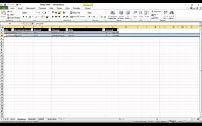 Financial Tracking Spreadsheet Money Tracking Excel Spreadsheet Tutorial Youtube