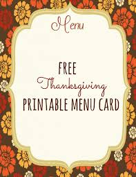 free blank menu template free printable thanksgiving templates happy thanksgiving