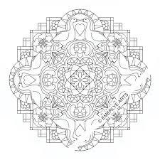 cynthia emerlye vermont artist and life coach duck mandala an