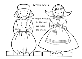 France Flag Coloring Page Children Of Other Lands Coloring Book 1954 U2013 Q Is For Quilter