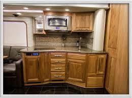 rv kitchen cabinet storage ideas rv kitchens layout counter space dinette floorplan