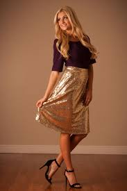sequin skirt all sequin gold nye skirt modest dresses and clothing for