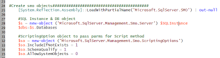 Sql Server Drop Table If Exists by Using Powershell And Smo To Script Sql Server Database Objects