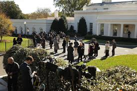 White House Tours Obama by Donald Trump Meets With Obama At The White House And Visits The