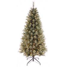 fully decorated artificial christmas trees christmas lights