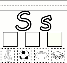 worksheet letter s kindergarten activities wosenly free worksheet