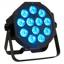 american dj led lights from american dj the mega tri64 profile 12 3 watt tri color led light