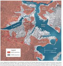 Back Bay Boston Map by A Bold Idea For Addressing Sea Level Rise Resilient Design Institute
