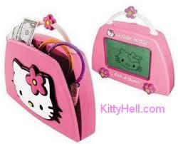 hello kitty etch a sketch purse u2013 hello kitty hell