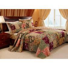 greenland home fashions moose lodge 3 quilt set hayneedle