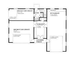 Rv Garage Floor Plans Garage Apartment Plans Garage Apartment Plan With 3 Car Bays And