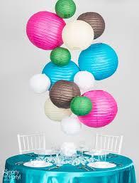 paper lantern light fixture diy paper lantern chandelier smarty had a party blog