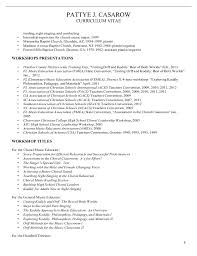 Singer Resume Sample by Music Education Resume Template Examples