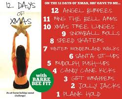 a fitness inspired 12 days of christmas the style files