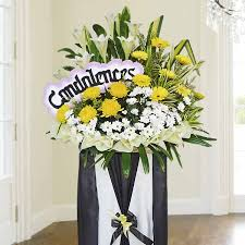 flower delivery ta funeral flowers stand sympathy wreaths floral arrangements