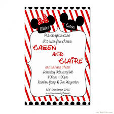 mickey mouse 1st birthday boy mickey mouse invitation template mickey mouse clubhouse birthday