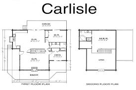 Log Home Floor Plans Carlisle Log Homes Crockett Log Home Plan U0026 Kit