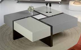modern living room tables mesas centro mesa cuadrada elodie decoración giménez comedor