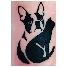 boston terrier silhouette clipart free clip art images bt