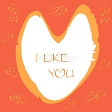 you it you buy it s day heart s day greeting card inscription i like you you on