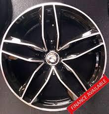 audi rs6 wheels 19 19 x4 audi rs6 style black polished alloy wheels audi golf mk 5 6