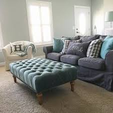 behr sophisticated teal wall color via sg style interior design