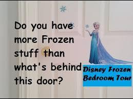 Frozen Room Decor Frozen Bedroom Tour With Frozen Room Decor And Frozen Stuff