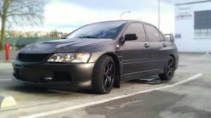 evolution mitsubishi 8 fs 2003 matte black evo 8 evolutionm mitsubishi lancer and