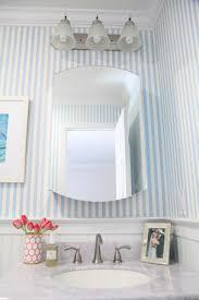 design striped wallpaper for bathrooms whimsical bathroom makeover lemon stripes striped wallpaper for bathrooms